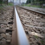 線路と貨物列車