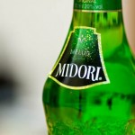 iPhoneアプリの「DreamCocktail」にあった「MIDORI」と言うメロンリキュール。