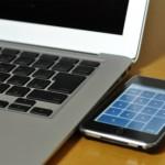 MacBook Airのテンキー代わりにiPhoneアプリ「NumberKey」がとっても便利!