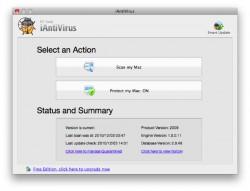アンチウイルスソフト iAntiVirus