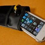 ハードケースを装着したiPhone4Sにぴったりのソフトケース