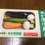 野田琺瑯のぬか漬け美人でぬか床デビュー