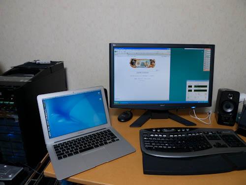 MacBook Air 13インチの2GB(2ギガ)仕様を買いました